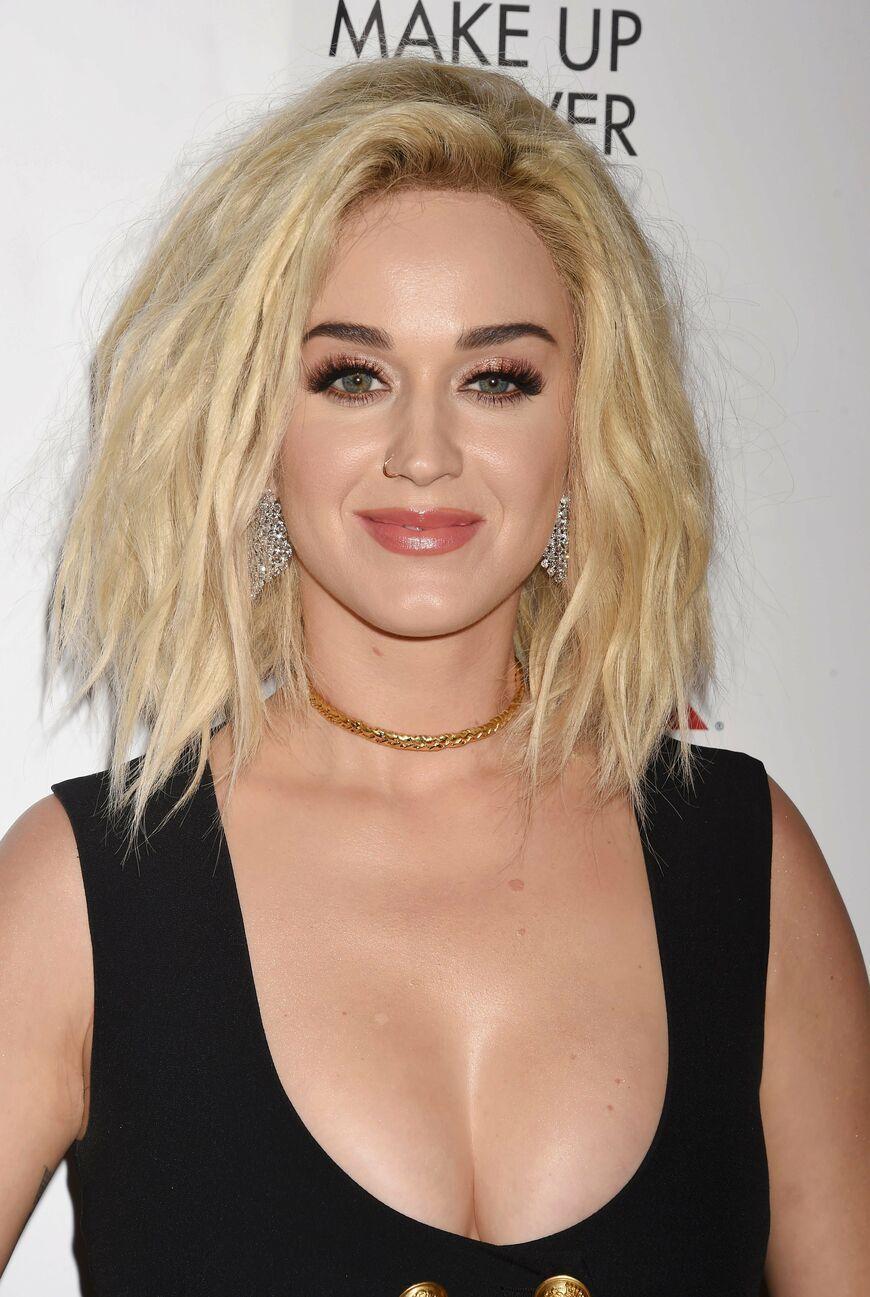 Katy Perry Zeigt Uns Die Trend Frisur 2017 Der Shaggy Bob