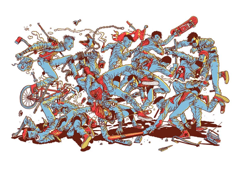 gerhardhuman-dibujo-oldskull-19