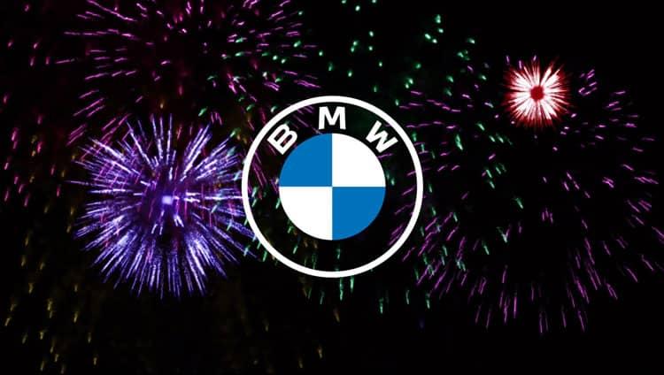 logotipo de bmw 2d