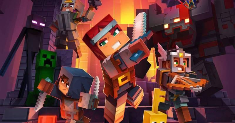 Minecraft Dungeons é adiado e chega em 26 de maio
