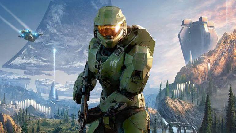 Master Chief in Halo Infinite.