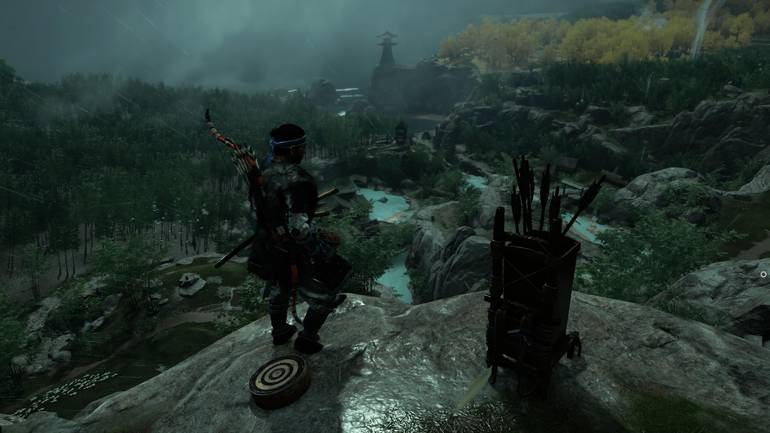 Ghost of Tsushima cloudy.