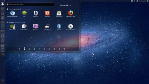 Unity 5.0 installed in Ubuntu 11.10