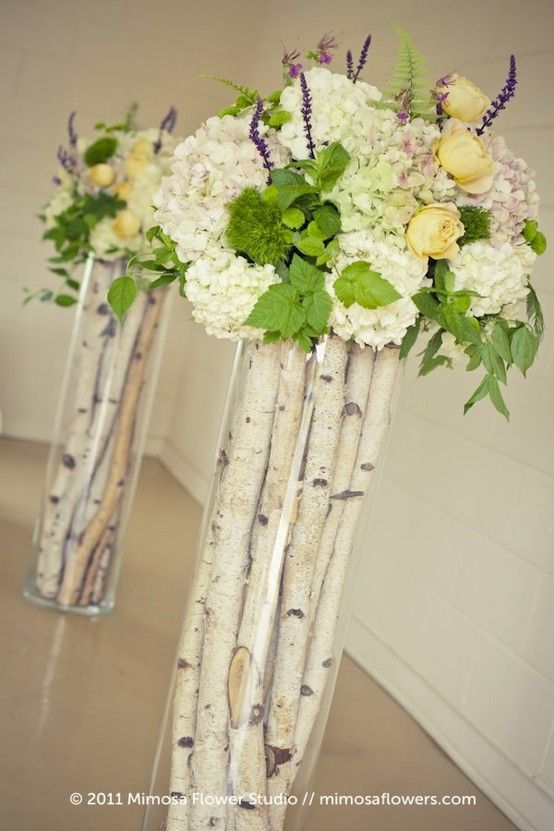 Tall Vases For Centerpieces Baby Shower