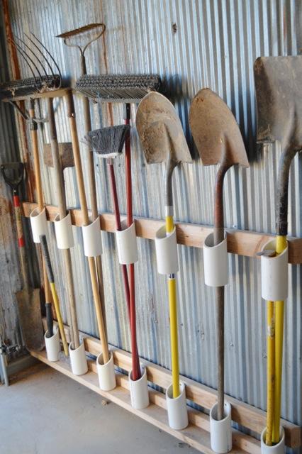 garden tool organization
