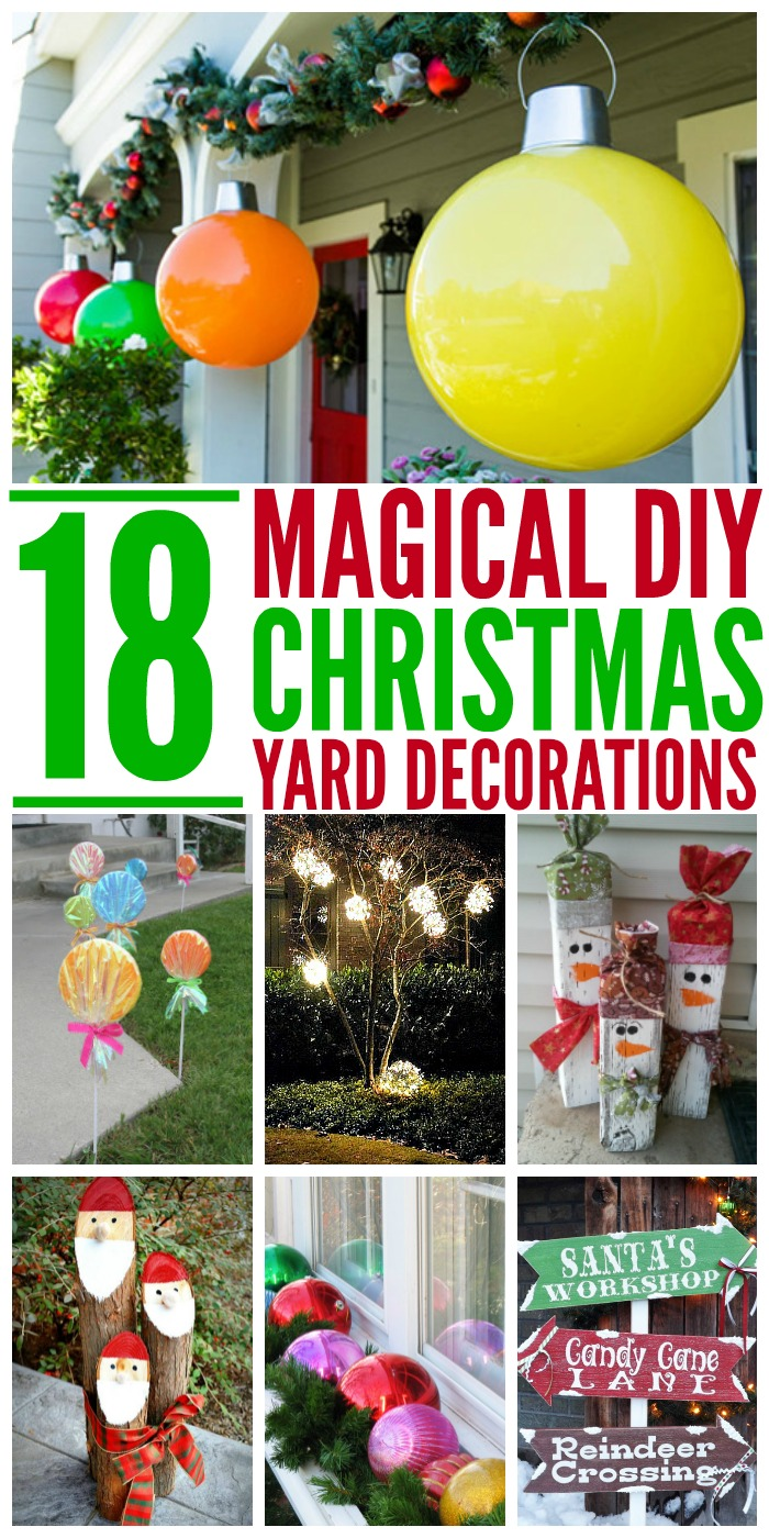 18 Magical Christmas Yard Decorations on Lawn Decorating Ideas  id=26528