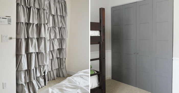 18 makeover closet door ideas that ll
