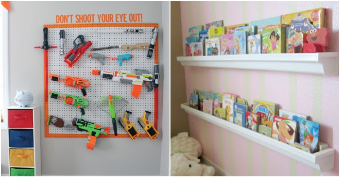 16 Tricks To Organize Kid Rooms On A Budget
