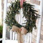 rocking chair wreath