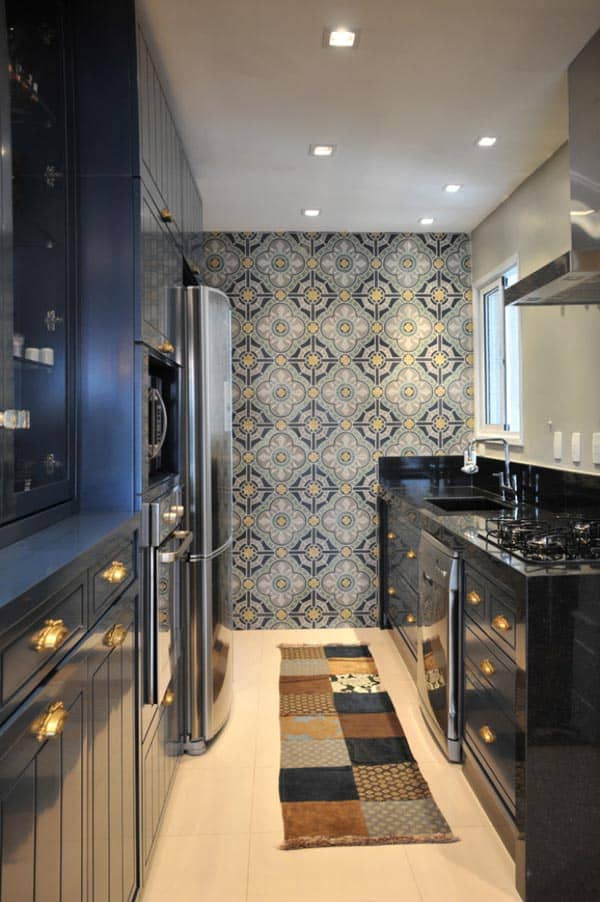 43 Extremely creative small kitchen design ideas on Small Kitchen Remodeling Ideas  id=19294