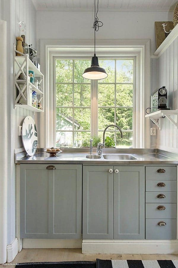 43 Extremely creative small kitchen design ideas on Small Kitchen Remodeling Ideas  id=41656
