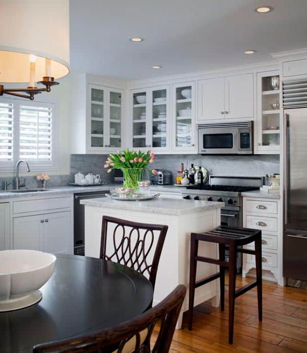 43 Extremely creative small kitchen design ideas on Small Kitchen Remodeling Ideas  id=20013