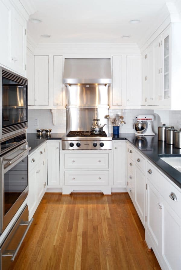 43 Extremely creative small kitchen design ideas on Small Kitchen Remodeling Ideas  id=70994
