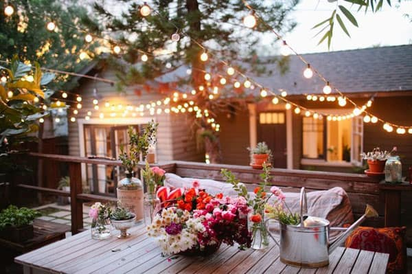52 Spectacular outdoor string lights to illuminate your patio on Backyard String Light Designs id=76908