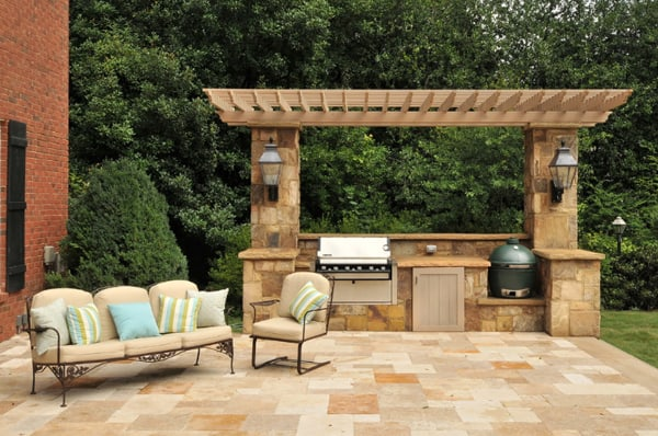 70 Awesomely clever ideas for outdoor kitchen designs on Yard Kitchen Design id=95260