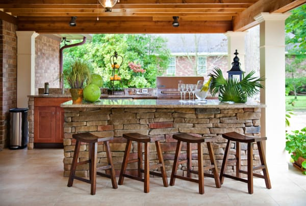 70 Awesomely clever ideas for outdoor kitchen designs on Yard Kitchen Design id=63299