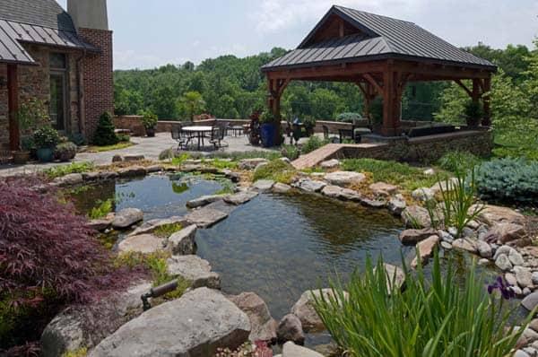 55 Visually striking pond design ideas for your backyard on Landscape Pond Design id=34727