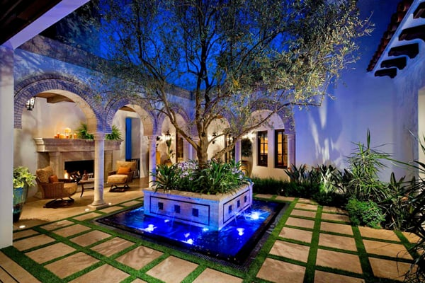 58 Most sensational interior courtyard garden ideas on Courtyard Patio Ideas id=48793