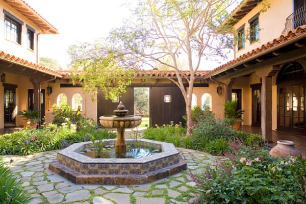 58 Most sensational interior courtyard garden ideas on Courtyard Patio Ideas id=38077