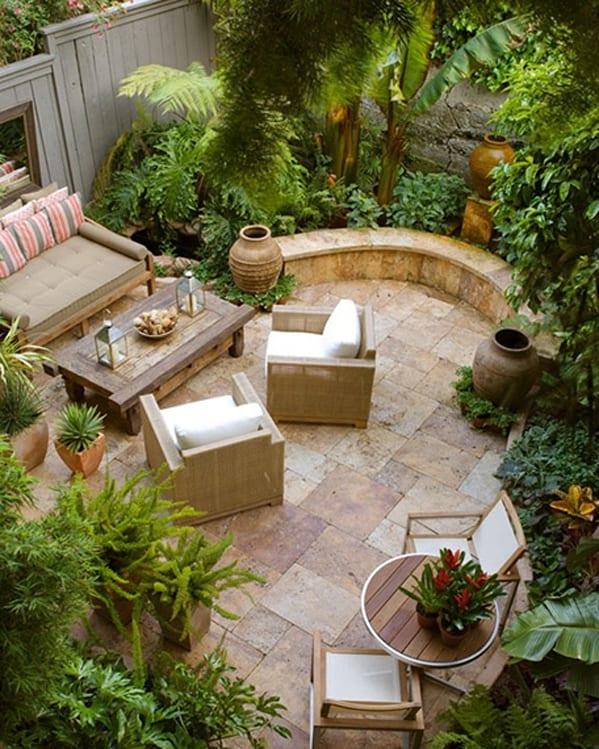 58 Most sensational interior courtyard garden ideas on Courtyard Patio Ideas id=80003