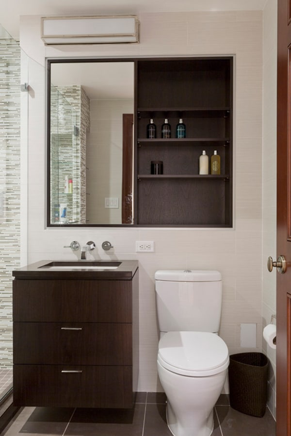 40 Stylish and functional small bathroom design ideas on Ideas For Small Bathrooms  id=63432