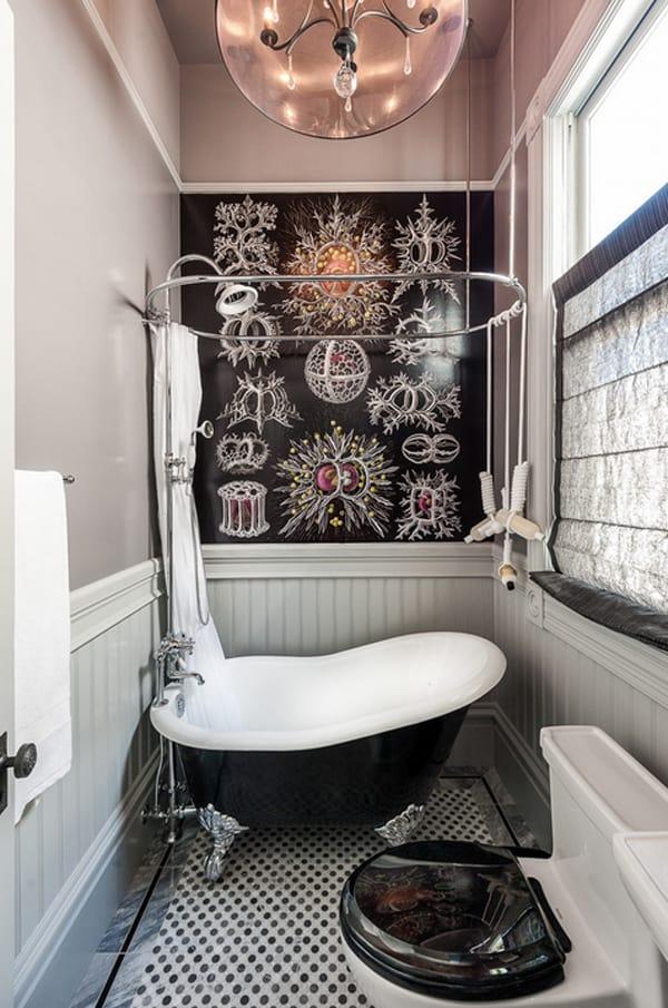 40 Stylish and functional small bathroom design ideas on Bathroom Remodel Design Ideas  id=30197