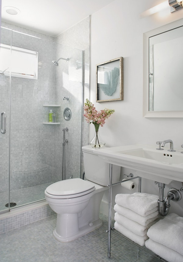 40 Stylish and functional small bathroom design ideas on Bathroom Ideas Small  id=98050