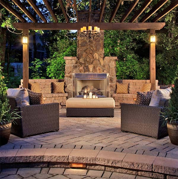53 Most amazing outdoor fireplace designs ever on Amazing Outdoor Fireplaces  id=29464