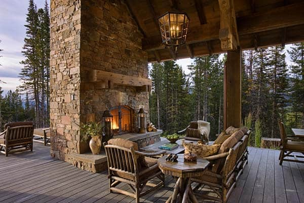 53 Most amazing outdoor fireplace designs ever on Amazing Outdoor Fireplaces  id=93000