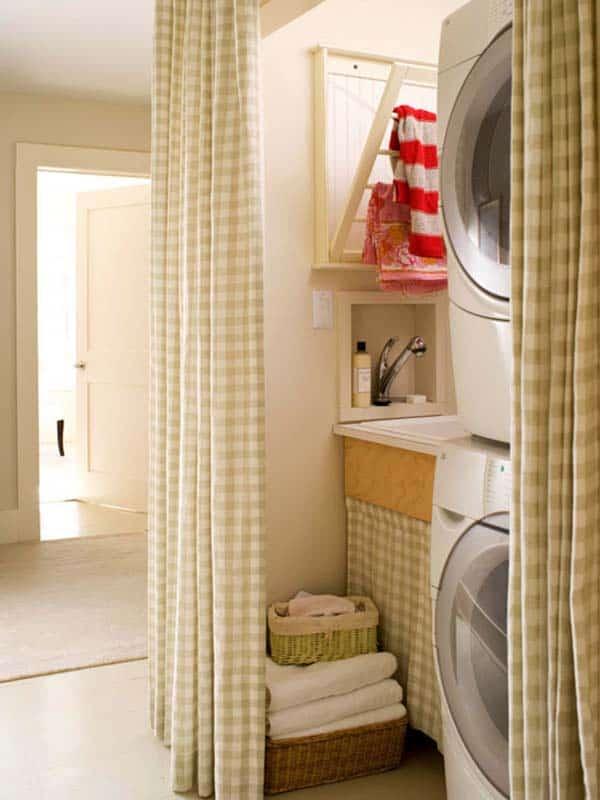 Small Laundry Room Design Ideas-21-1 Kindesign