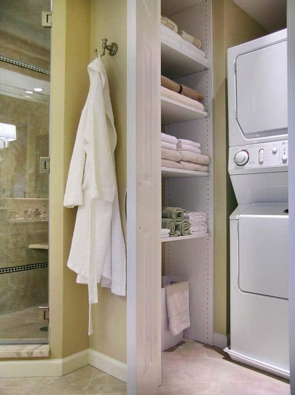 Small Laundry Room Design Ideas-22-1 Kindesign