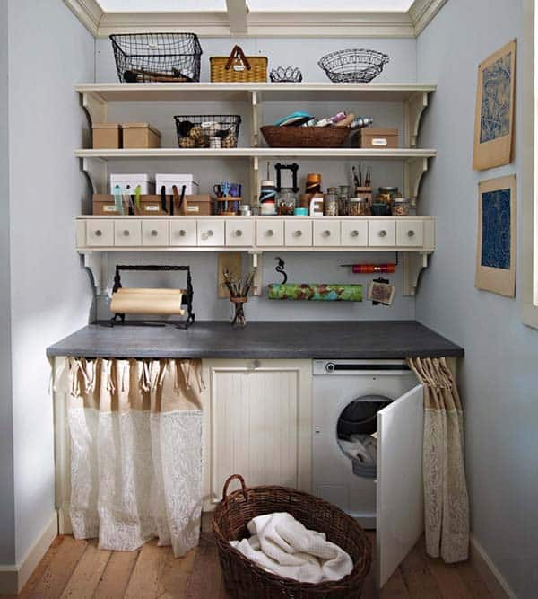 Small Laundry Room Design Ideas-35-1 Kindesign