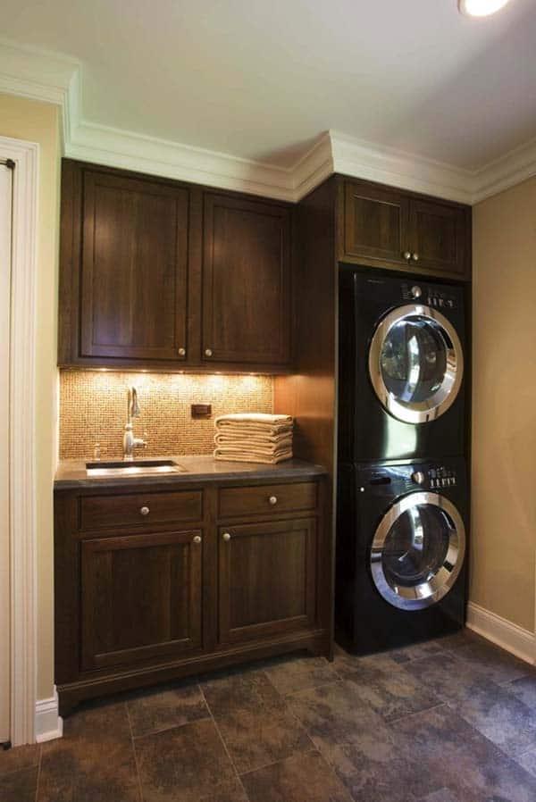 60 Amazingly inspiring small laundry room design ideas on Small Laundry Ideas  id=93808