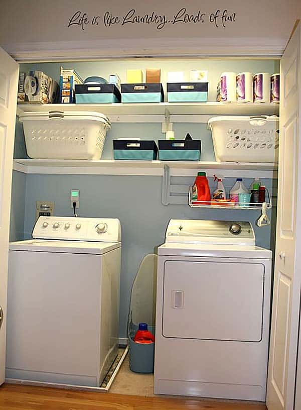 Small Laundry Room Design Ideas-45-1 Kindesign