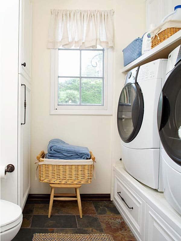 60 Amazingly inspiring small laundry room design ideas on Small Laundry Ideas  id=96719