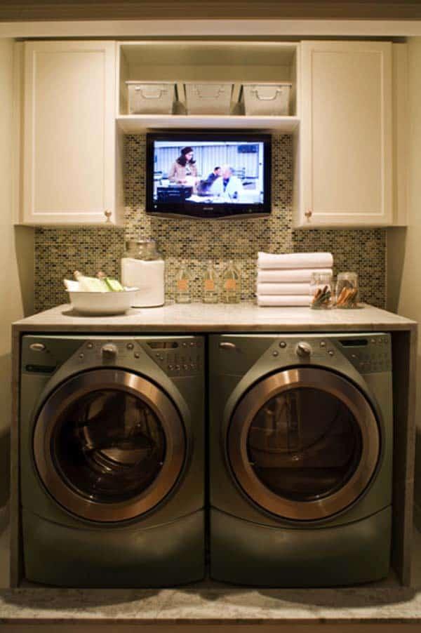 Small Laundry Room Design Ideas-59-1 Kindesign