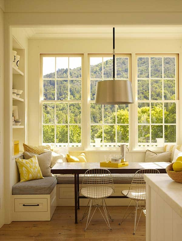 52 Incredibly fabulous breakfast nook design ideas on Nook's Cranny Design Ideas  id=42387
