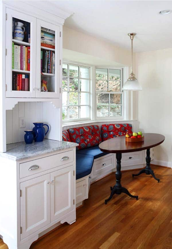 52 Incredibly fabulous breakfast nook design ideas on Nook's Cranny Design Ideas  id=57949