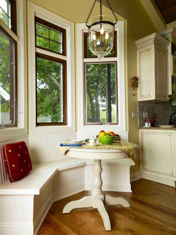 52 Incredibly fabulous breakfast nook design ideas on Nook's Cranny Design Ideas  id=17091