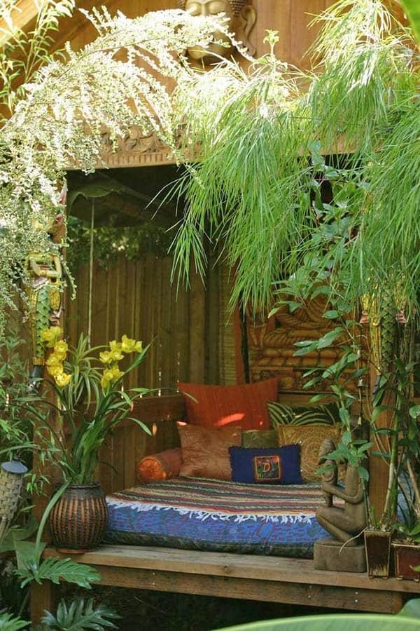 40 Enchanting outdoor bedroom ideas for dreamy sleep on Backyard Room Ideas id=83172