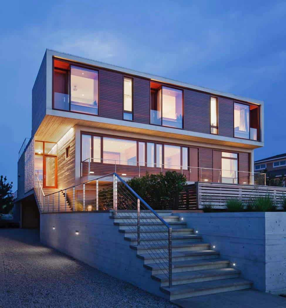 Fascinating Modern Beach House Retreat In The Hamptons