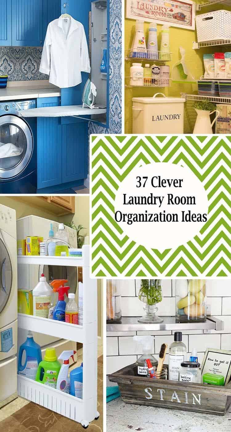 37 Amazingly clever ways to organize your laundry room on Laundry Room Organization Ideas  id=97197