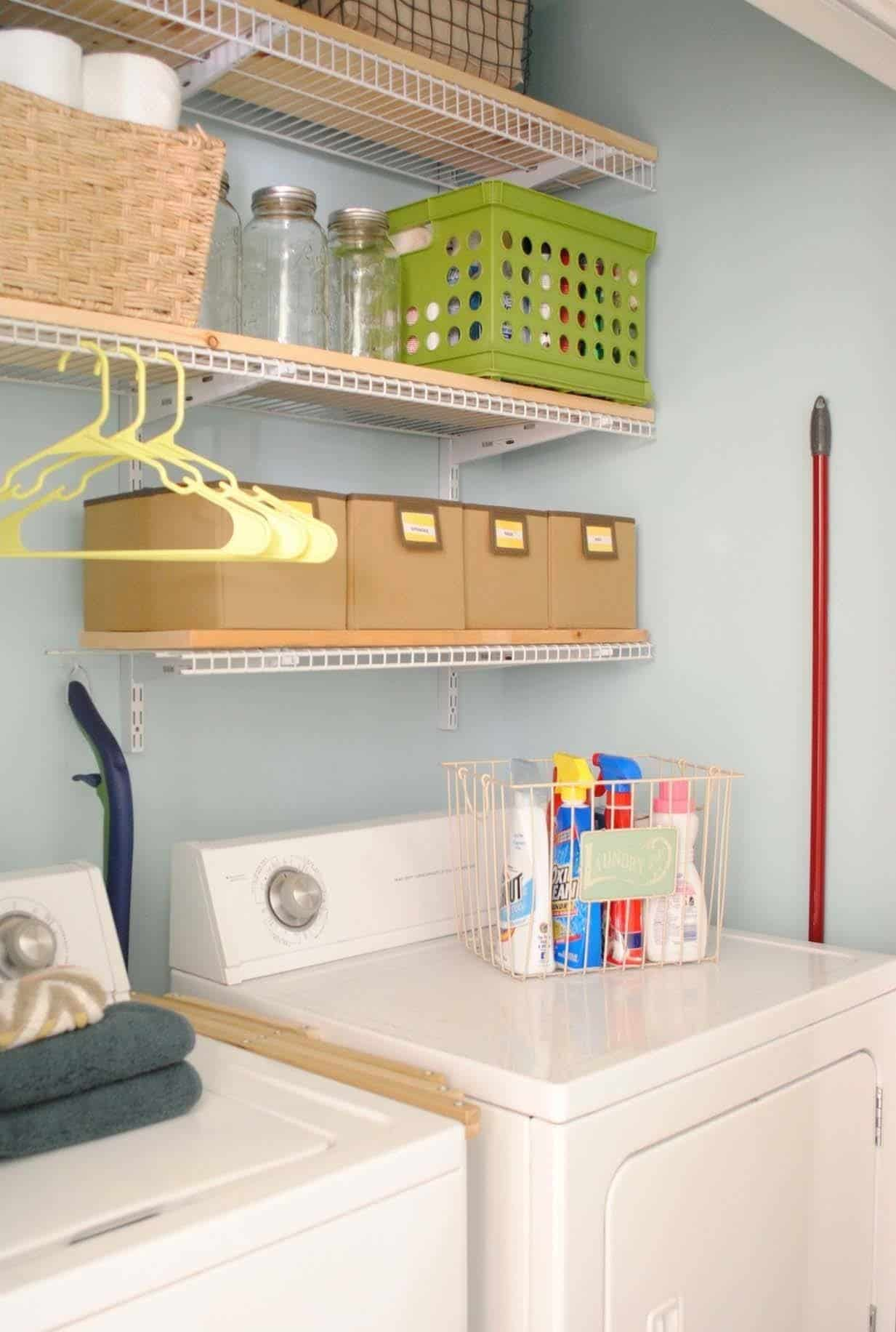 37 Amazingly clever ways to organize your laundry room on Laundry Room Organization Ideas  id=13084