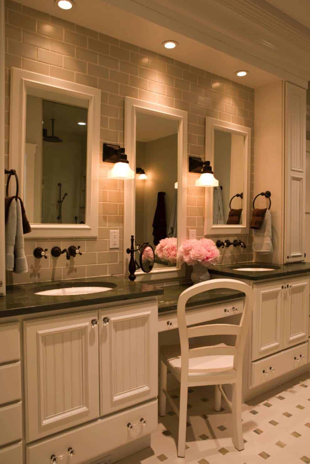 53 Most fabulous traditional style bathroom designs ever on Bathroom Remodel Design Ideas  id=92336