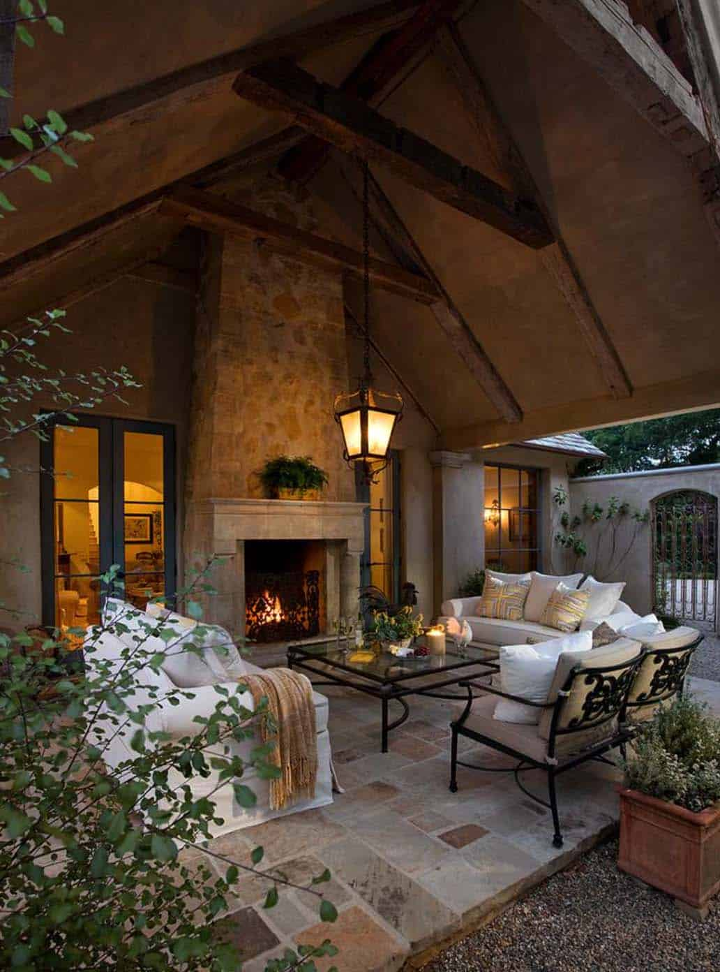 44 Traditional outdoor patio designs to capture your ... on Patios Designs  id=49729