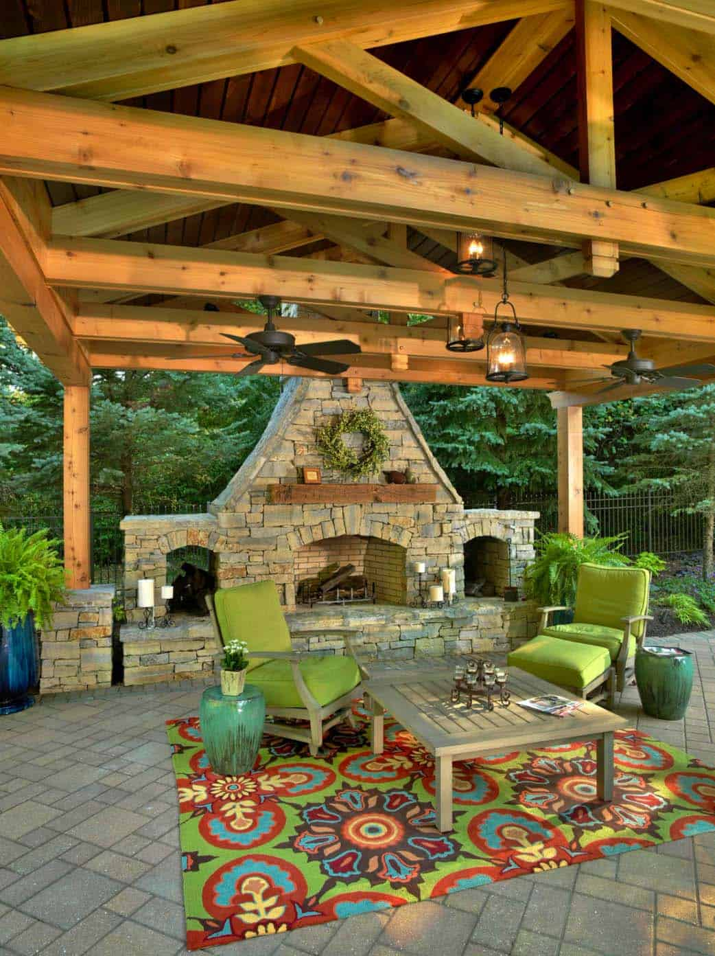 44 Traditional outdoor patio designs to capture your ... on Outdoor Deck Patio Ideas id=86024