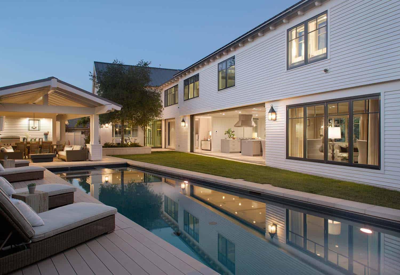 Contemporary East Coast-inspired Beach House In Coronado