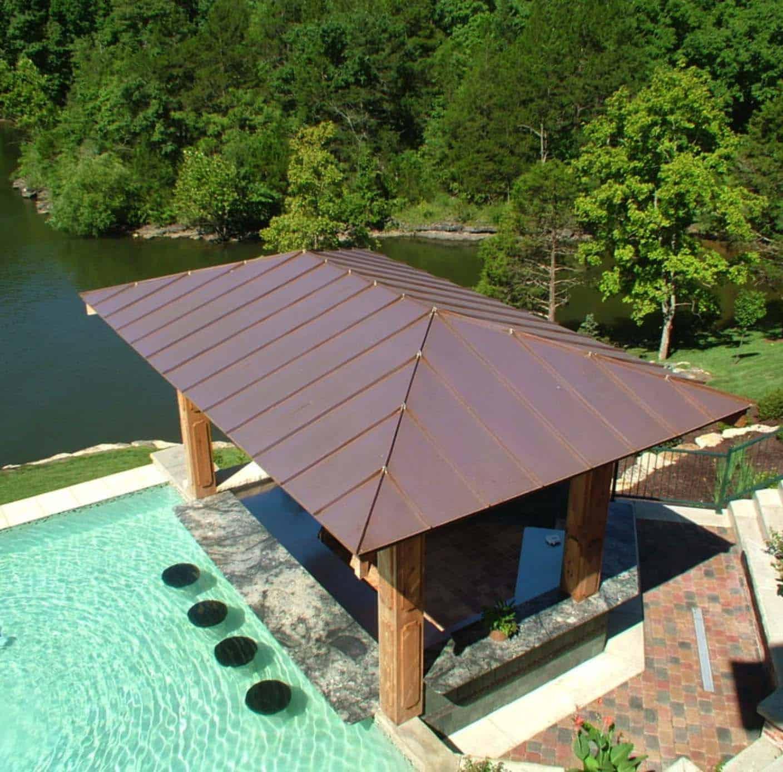 33 Mega-Impressive swim-up pool bars built for entertaining on Backyard Pool Bar Designs  id=59435