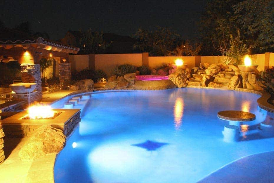 33 Mega-Impressive swim-up pool bars built for entertaining on Backyard Pool Bar Designs id=24254