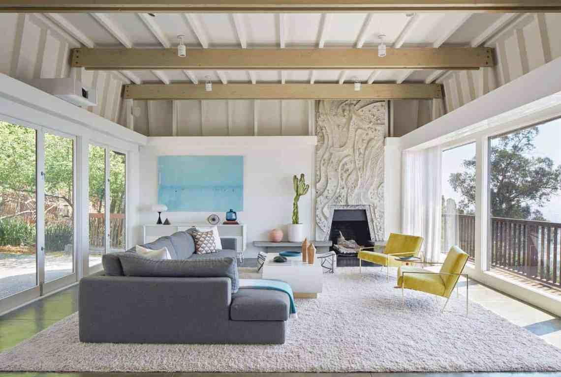 Mid-century modern residence in Berkley Hills gets ...
